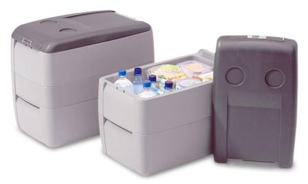 Šaldytuvai, šaldikliai, mikroklimato įrenginiai, oro kondicionieriai, automobiliniai šaldytuvai, šilumos siurbliai ir kt.