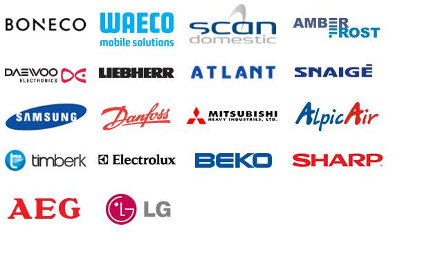 Atstovaujame šiuos gamintojus
